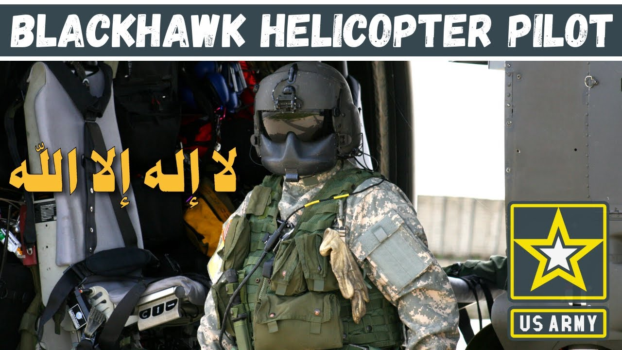 US Army Blackhawk Helicopter Pilot Accepts Islam