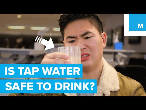 Is Tap Water Safe To Drink? - Sharp Science