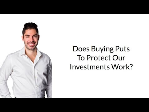 Does Buying Puts To Protect Our Investments Work? (Hint: Absolutely Not)