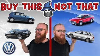 The CAR WIZARD shares the top Volkswagon Cars TO Buy & NOT to Buy!
