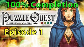Puzzle Quest 100% Completion Stream: Episode 1 | The Journey Begins!