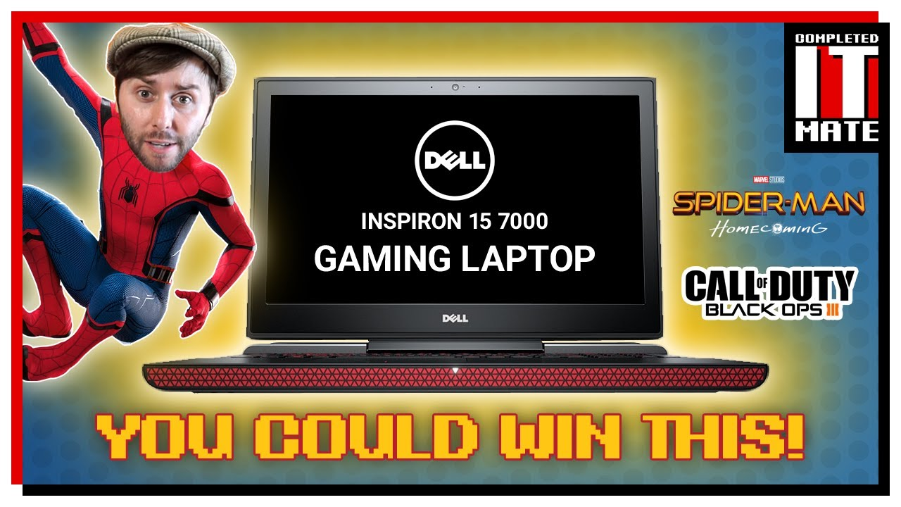 How to win a Gaming Laptop from Dell!!