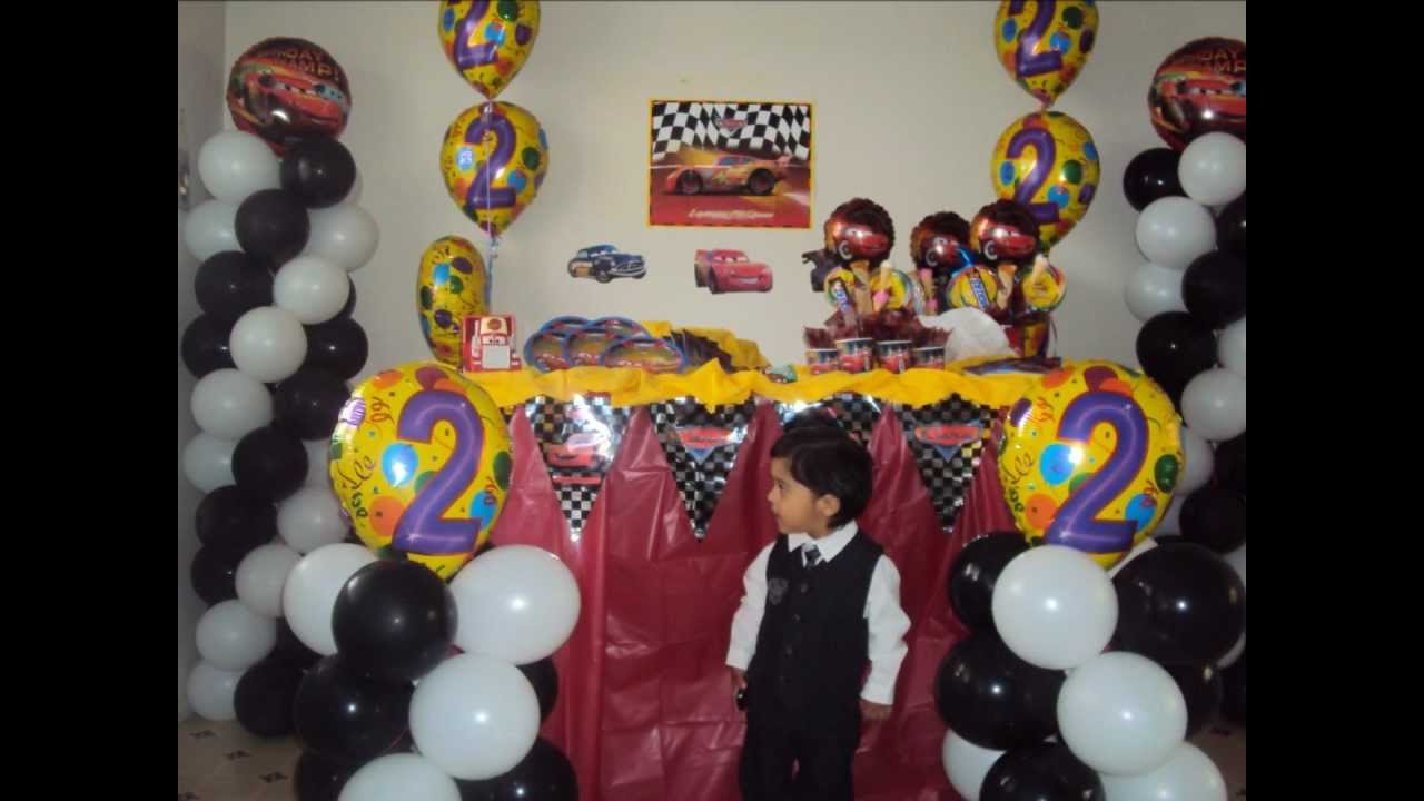 Disney Cars Birthday Party Decoration