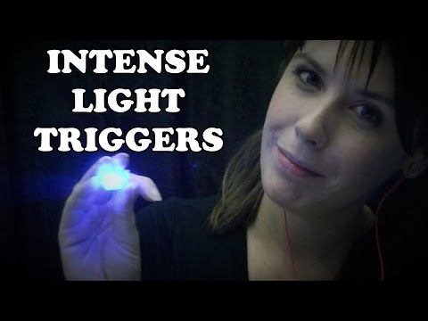 ASMR Light Tracking: Intense Light Triggers and Soft Speakin