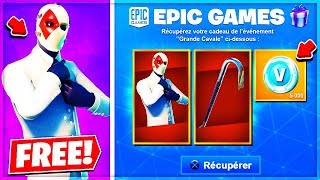 """VOICI THE FREE CADEAUX of the """"JOKER"""" on Fortnite!"""