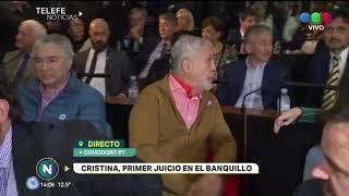 CRISTINA FERNÁNDEZ AL BANQUILLO: PRIMERA JORNADA DEL JUICIO CONTRA LA EX PRESIDENTA