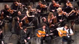 Juan Carlos Moreno Castillo(2) en el concierto de VICENTE AMIGO en el Teatro Cervantes de Malaga.