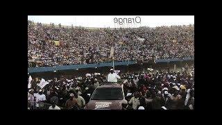 Meeting de cloture: l'entrée spectaculaire de Macky Sall au stade LSS