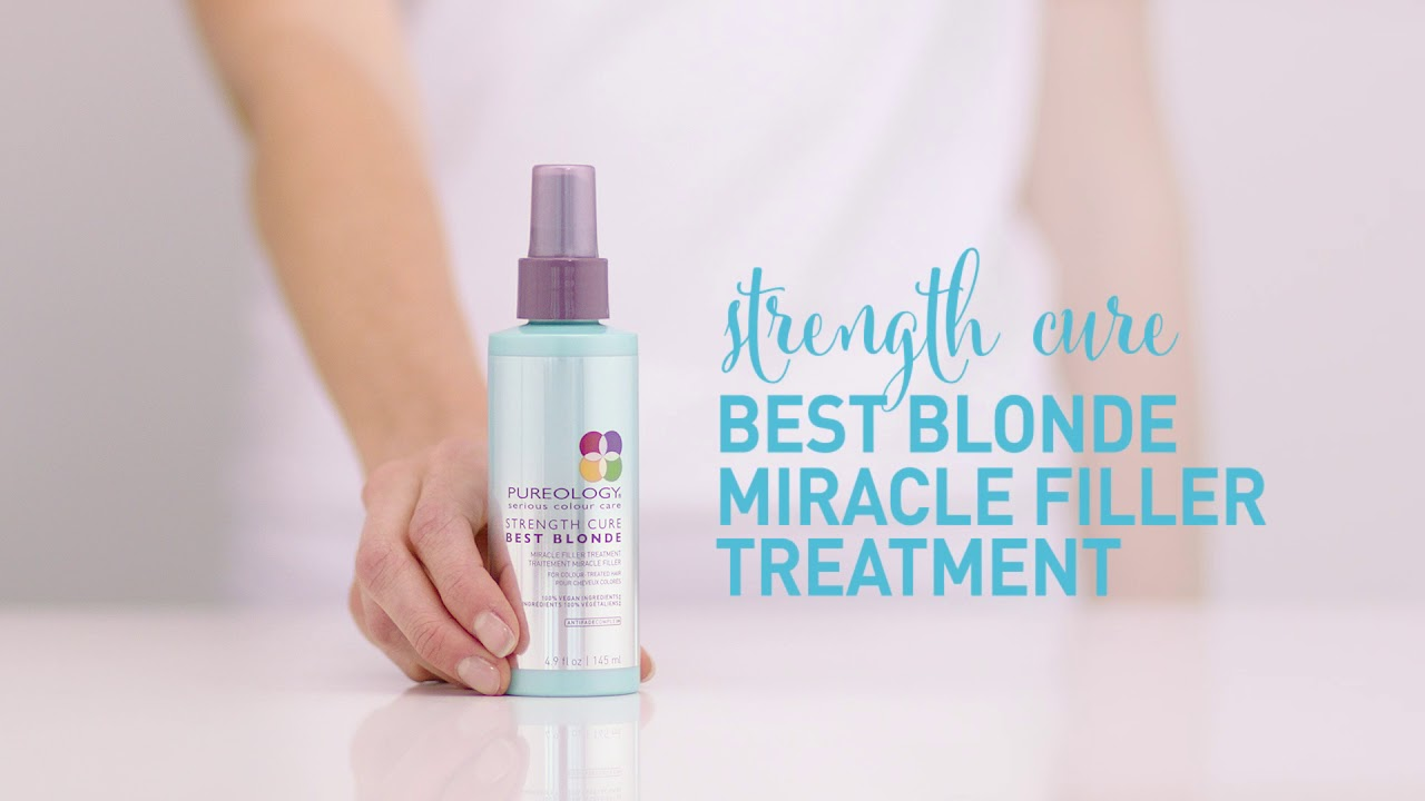 Strength Cure Best Blonde Miracle Filler Treatment