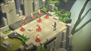 Lara Croft Go Gameplay   Best Android Game