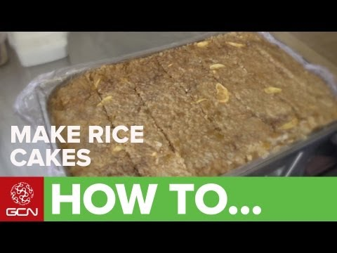 How To Make Rice Cakes - Cooking With Team Saxo Tinkoff's Hannah Grant