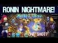 Ronin's NIGHTMARE CREATION! Guild War - Castle Clash