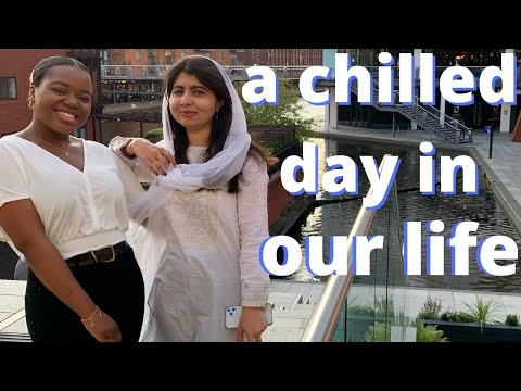 a chilled day in the life with Malala and Vee (living together in London)