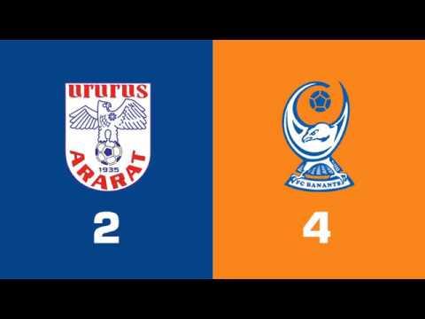 Ararat - Banants 2:4, Armenian Premier League 2018/19