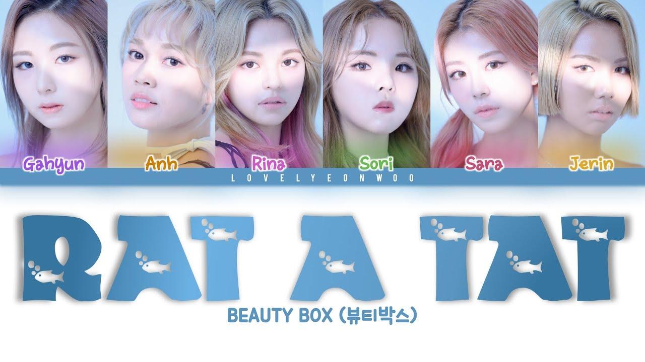 BEAUTY BOX (뷰티박스) – RAT A TAT Lyrics (Color Coded Han/Rom/Eng)