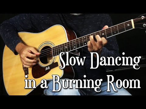 Slow Dancing In A Burning Room | John Mayer | Fingerstyle Cover