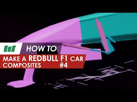 Make a F1 Red Bull Car - Composites | Formula 1 | Part 4