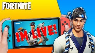 Pro Fortnite Nintendo Switch Player // Pro solo Matches // Wins Unknown // New Panda Skin + Tips!!