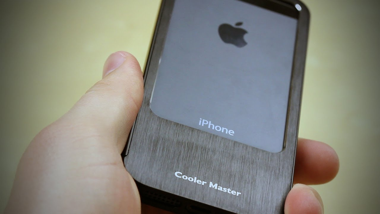 new products 53df6 b5031 Aluminum Bumper for iPhone 5 by Cooler Master Review