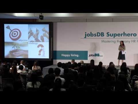 jobsDB Superhero HR Day 2015: Ms. Bianca Wong