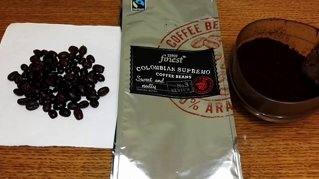 Tesco Finest Colombian Supremo Coffee Beans Review