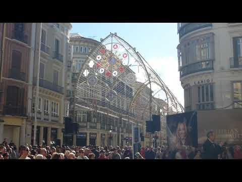 Spanish Constitution Day music in Málaga, Spain