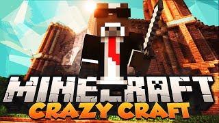 "Minecraft ""MOTHRA BOSS BATTLE"" - CRAZY CRAFT Modded Survival - Ep. 20 ( Minecraft Crazy Craft )"