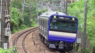 横須賀線・総武快速線新型車両E235系1000番台 東海道線で試運転