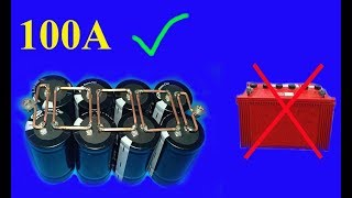 Download 12V , 100A using Super capacitors , Amazing idea Mp3 and Videos