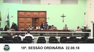 Sessão da Câmara 22.08.18
