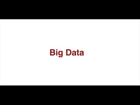 Unit 6: Big Data and Data Unit Introduction