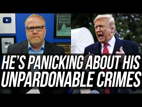 Trump is FREAKING OUT Because He Can't Pardon Himself & Faces Prosecution When He Leaves Office!