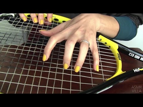 ASMR * Tapping & Scratching * Theme: Tennis * Fast Tapping * No Talking * ASMRVilla