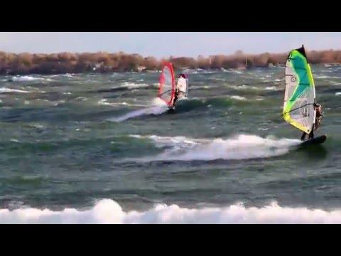 2013 10 07 SBX 30+ knots day wavesailing