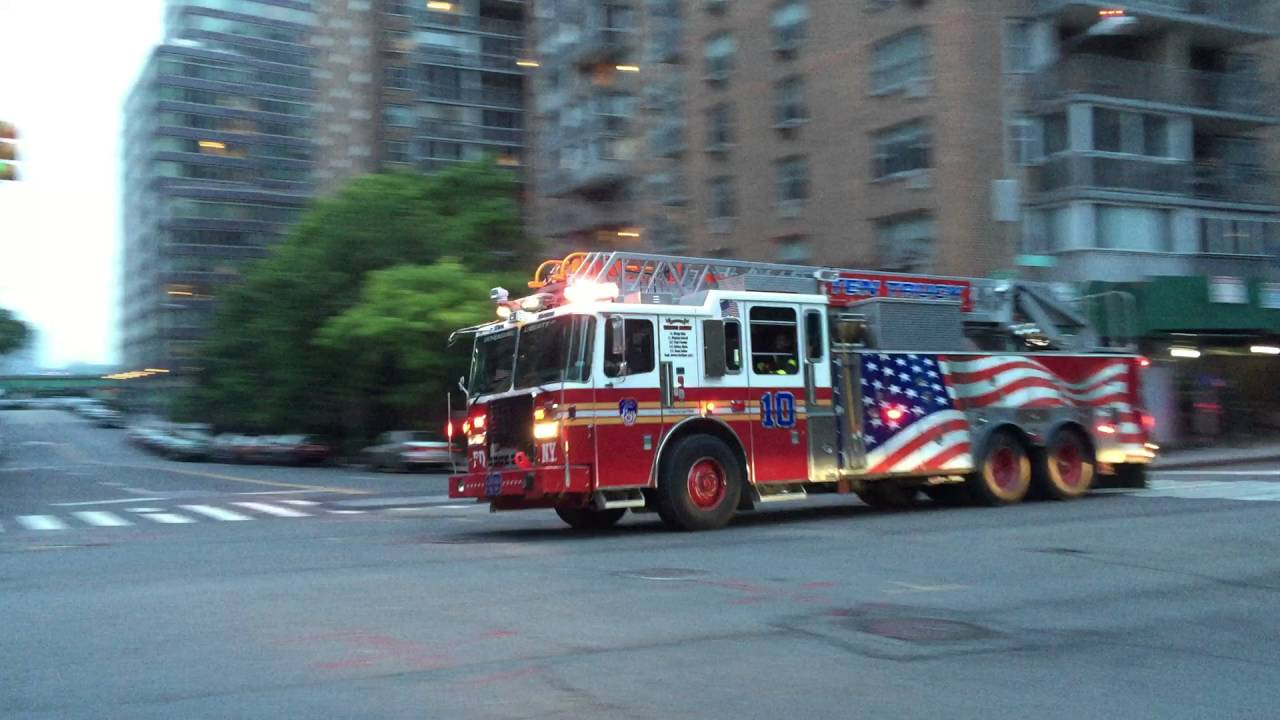 Brand New Fdny Kme Engine 37 Acting 40 Fdny Ladder 10