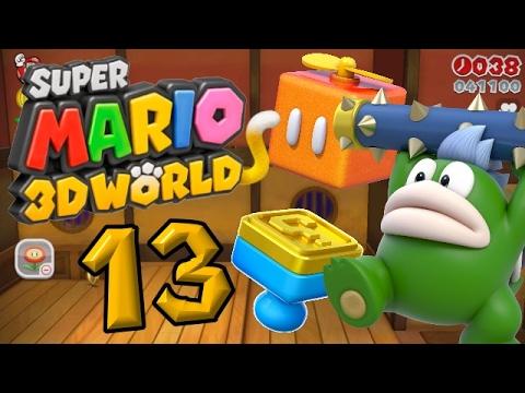 Super Mario 3D World Part 13: Eine Floßfahrt voller Gefahren