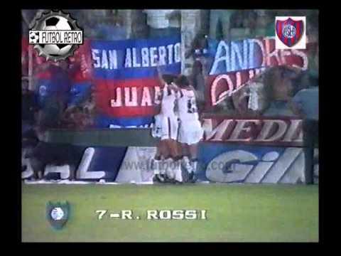 Newells 0 vs San Lorenzo 6 Copa Libertadores 1992 FUTBOL RETRO
