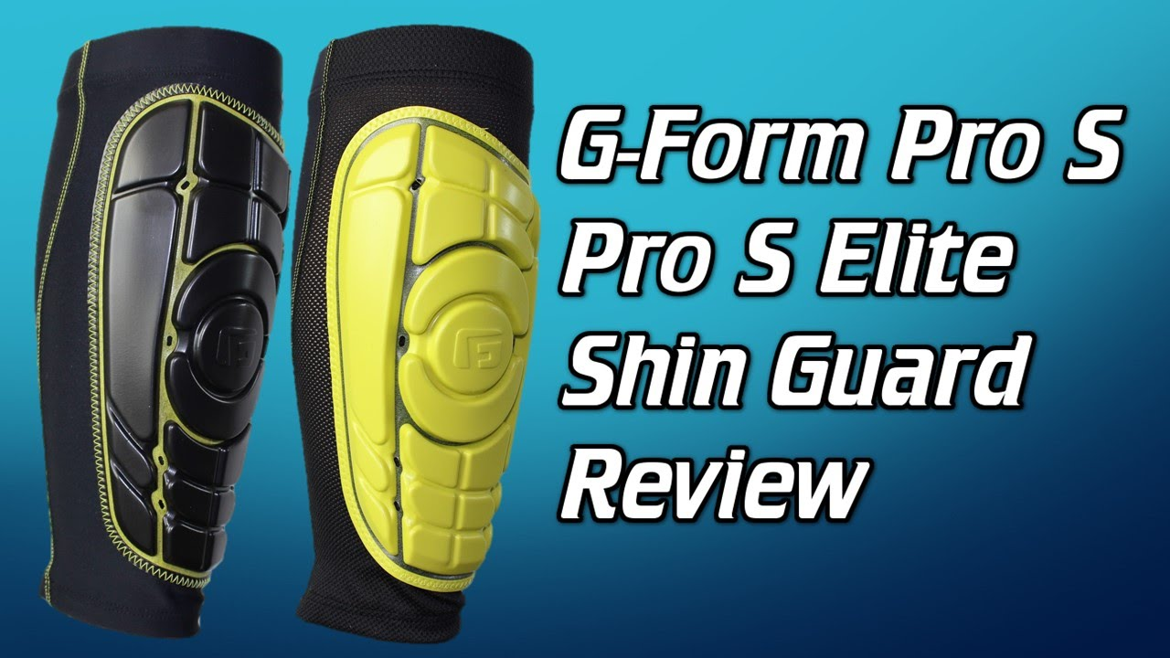 G-Form Pro-S & Pro-S Elite Shin Guard Review - YouTube