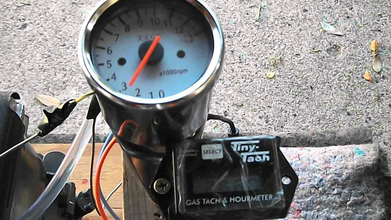 $16 eBay Tachometer & TinyTach  Single Cylinder Tachometers  YouTube