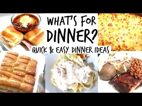 🍴-what's-for-dinner-|-quick-and-easy-dinner-ideas