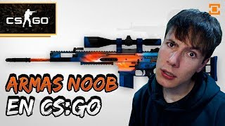 Armas 'noob' en Counter-Strike, ¿prohibido usarlas?