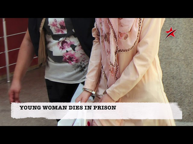 YOUNG WOMAN DIES IN PRISON