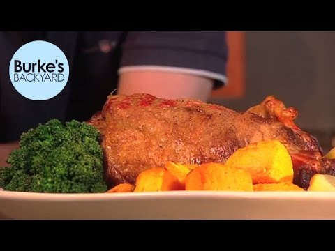 Burke's Backyard, Roast Lamb Sauce & Gravy