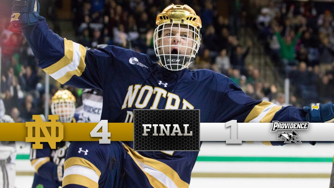 Top Moments - Notre Dame Hockey vs. Providence - YouTube e7a16a05bbe
