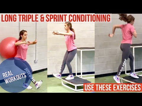 REAL WORKOUTS Sprints, Long & Triple Jump Conditioning - Getting Started