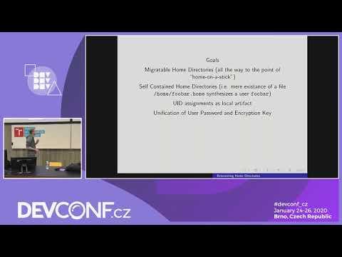 Reinventing Home Directories - DevConf.CZ 2020