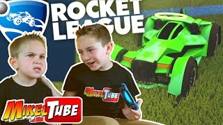 ROCKET LEAGUE Una partida con Leo en MikelTube thumbnail