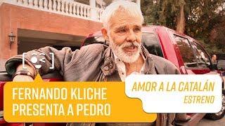 Fernando Kliche presenta a Pedro   Amor a la Catalán
