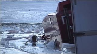 Semi Crashes Into Upper Klamath Lake - Dec 31st, 2013