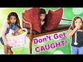 Last to get CAUGHT w/ Easter Basket WINS HUGE!!!   sneaky hiders!